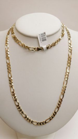 14k yellow gold figaro chain 28' for Sale in San Diego, CA