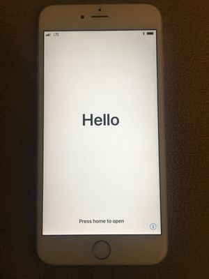 Locked iPhone 6 Plus for Sale in Nashville, TN