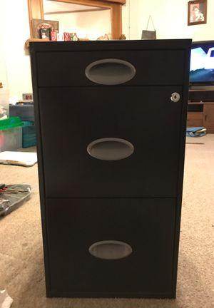 Black locking file cabinet for Sale in El Dorado, AR