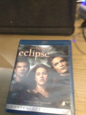 Blu Ray the wiling hit saga eclipse for Sale in Hialeah, FL