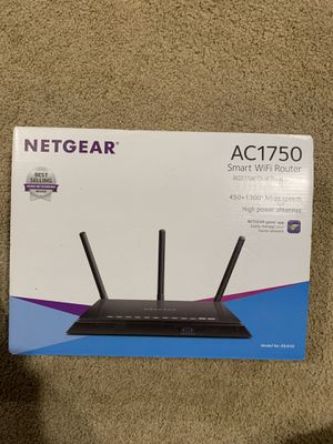 Netgear AC1750 smart WiFi Router for Sale in Fort Worth, TX