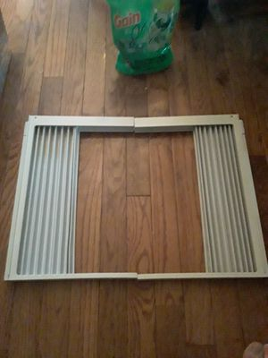 Left & Right Accordion AC Air Conditioner Shutters for Sale in Hamden, CT