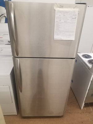 Stainless frigidaire fridge Affordable182 for Sale in Denver, CO