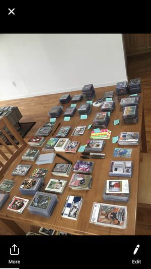 30k sport card collection 1950s-2019 for Sale in Garden City, NY