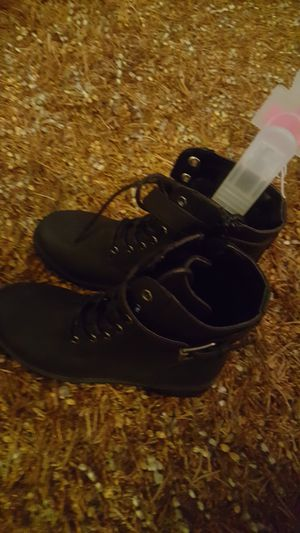 Little girl Black boots size 1 for Sale in Goodlettsville, TN