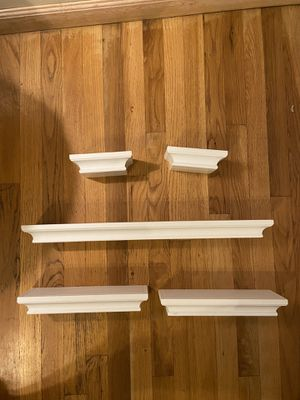 Set of 5 wall shelves for Sale in Boston, MA