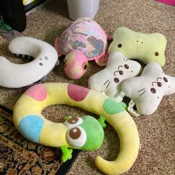 Assorted Plush Neck Pillow for Sale in Lynnwood,  WA