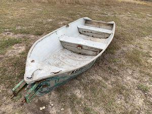 Aluminum boat 13ft no motor for Sale in Niederwald, TX