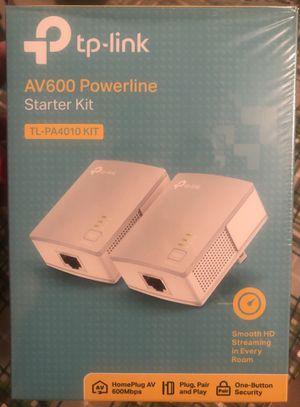 TP-Link AV600 powerline starter kit for Sale in Boiling Springs, SC