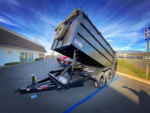 Dump Trailer 8x12x4' for Sale in Los Angeles, CA