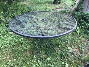 Outdoor iron patio table(s) for Sale in Charlottesville, VA