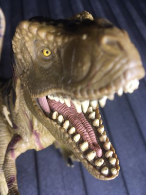 Vintage Jurassic Park T Rex Action Figure Toy Collection for Sale in El Paso, TX