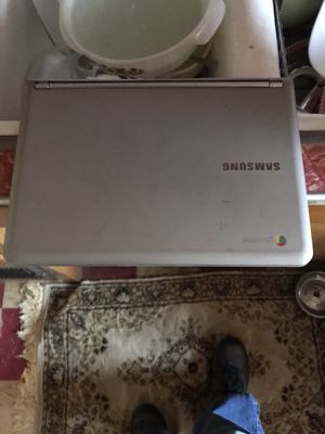 Samsung chrome laptop used for Sale in Wausau, WI