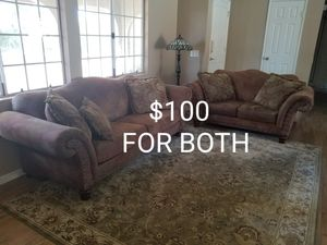 COUCH AND LOVE SEAT. for Sale in Perris, CA