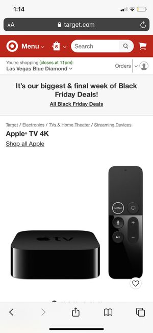 Apple TV for Sale in Las Vegas, NV