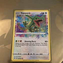 Rayquaza Pokémon's Tcg Card for Sale in Des Moines,  WA