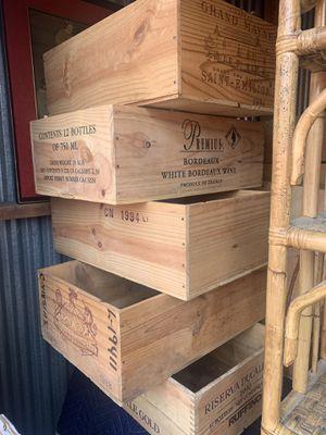 Wine crates for Sale in Fairfax, VA