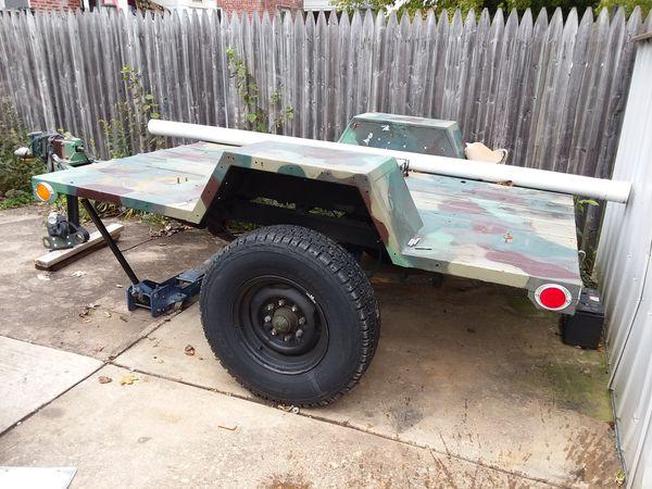 M116a3 Military Trailer