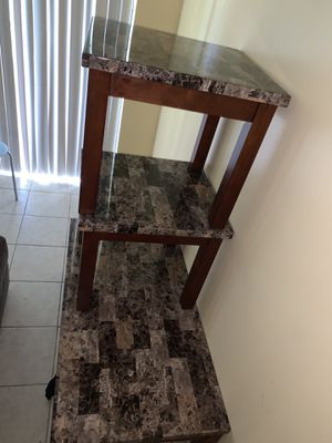 Brand new coffee table and end tables for Sale in Fort Lauderdale, FL