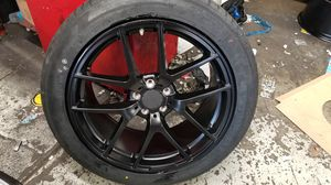 "Mercedes ml350 gle glk r class glc 4 20"" new amg style rims tires set for Sale in Hayward, CA"