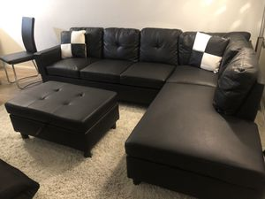 Black Sectional for Sale in Hawthorne, CA