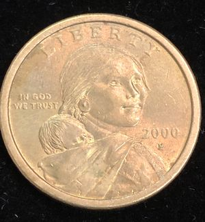 Gold 2000-P Native American & Sacagawea Dollar for Sale in Clyde, TX