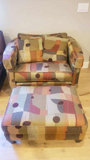 Ethan Allen Sofa Chair and Ottoman for Sale in Orinda, CA