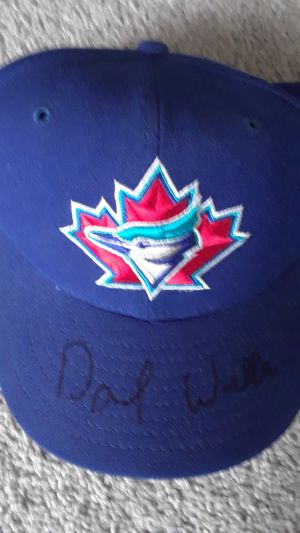 DAVID WELLS AUTOGRAPHED BASEBALL CAP for Sale in Clovis, CA