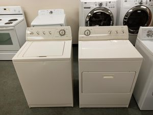 Whirlpool - Washer & Dryer - set! Clean! for Sale in Denver, CO