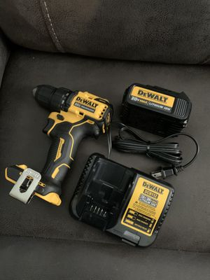Dewalt brushless drill battery and charger for Sale in Richmond, CA