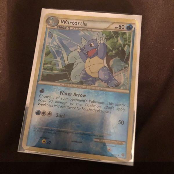 Pokemon Wartortle 42/95 Reverse Holo