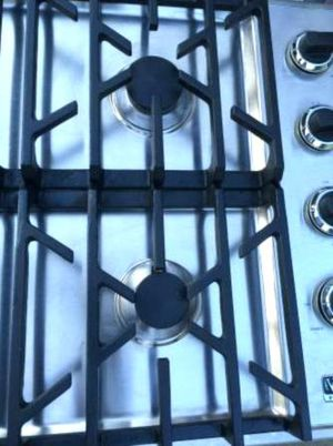 """36"""" Ge Profile White Glass gas Cooktop for Sale in Woodruff, WI"""