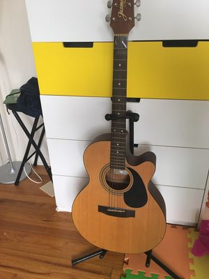 Guitar with stand for Sale in East Brunswick, NJ