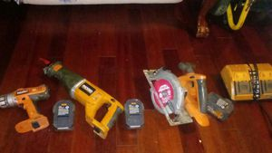 RIDGID power tools whole set for Sale in Portland, OR