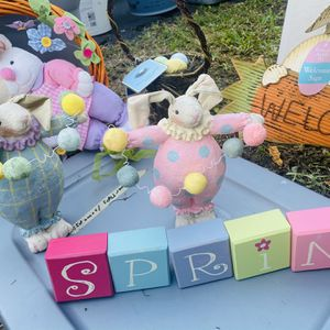 Assorted Easter Spring Decorations Some New With Tags for Sale in Fort Lauderdale, FL