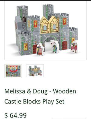 Melissa & Doug Castle blocks for Sale in Portland, OR