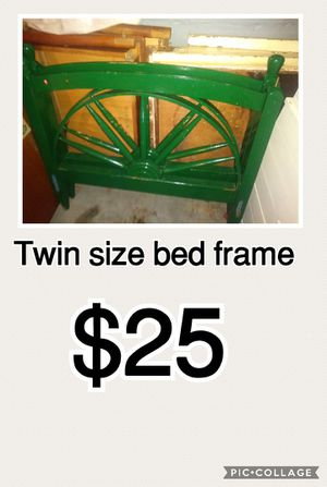 Twin bed frame for Sale in Detroit, MI
