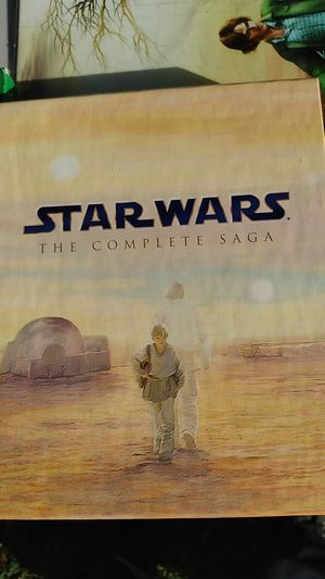 Star wars saga complete set new for Sale in Chesapeake, VA