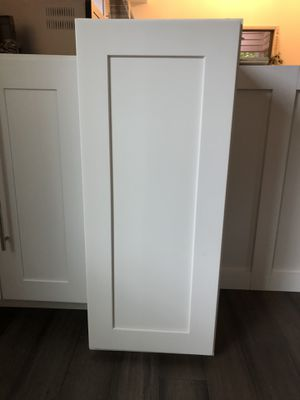 Premium White shaker Wall Cabinet - soft close for Sale in Roswell, GA