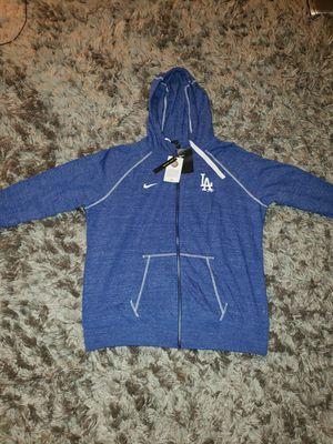 Los Angeles Dodgers Nike Women's Gym Vintage Team Full-Zip Hoodie - Heathered Royal. Size 2XL for Sale in Downey, CA