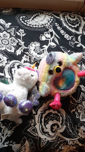 Rainbow plushies for Sale in Hesperia, CA