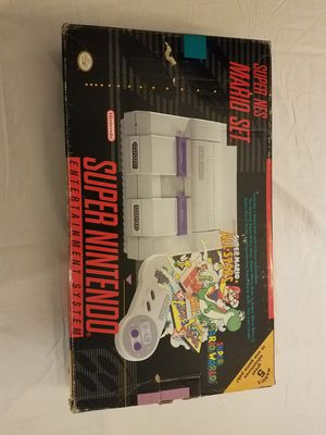 Super nintendo system super mario all stars world for Sale in Columbus, OH