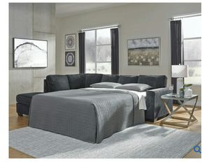 SPECIAL] Altari Slate LAF Full Sleeper Sectional   87213 for Sale in Fairfax, VA