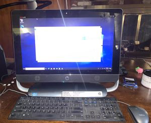 """HP TouchSmart beats Envy 20 Intel i3-2130 3.40GHz 4GB RAM 500GB 20"""" All in One PC for Sale in Norwalk, CA"""