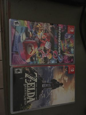 Nintendo switch games for Sale in Oceanside, CA
