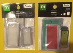 2 Packs of Tags for Sale in Hemet, CA