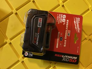 Milwaukee M18 5.0 ah battery for Sale in San Jose, CA