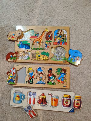 Educational and fun puzzles for kids (bundle) for Sale in North Potomac, MD