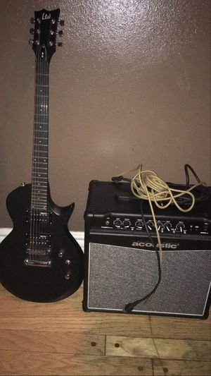 Electric Guitar And 35 Watt Amp for Sale in Los Angeles, CA