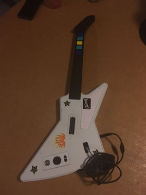 Guitar Hero Xbox 360 Xploror *read description* for Sale in Detroit, MI